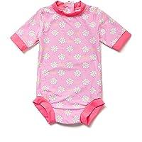 BONVERANO Baby Girl Toddler UPF 50+ Sun Protection Swimsuit