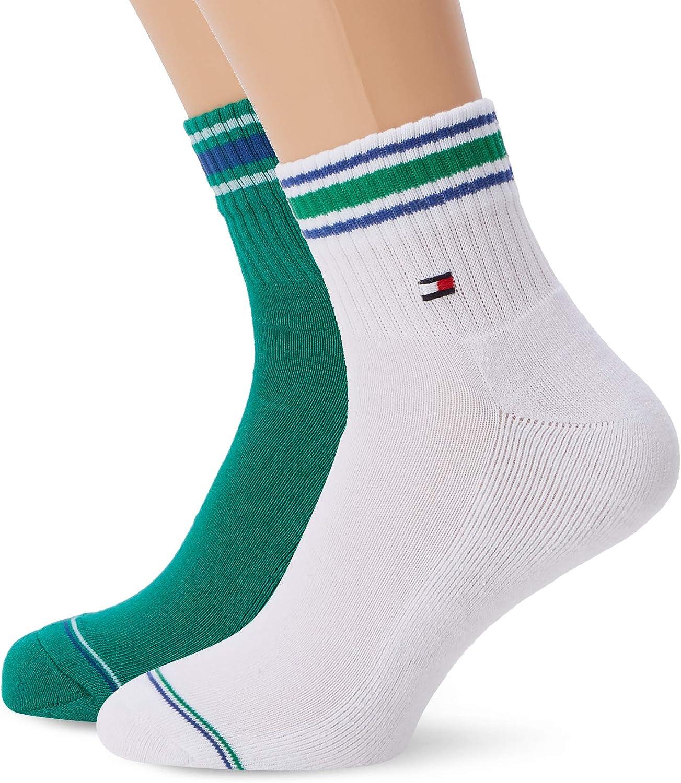 Calcetines para Hombre pack de 2 Tommy Hilfiger TH Men Iconic Sports Quarter 2P