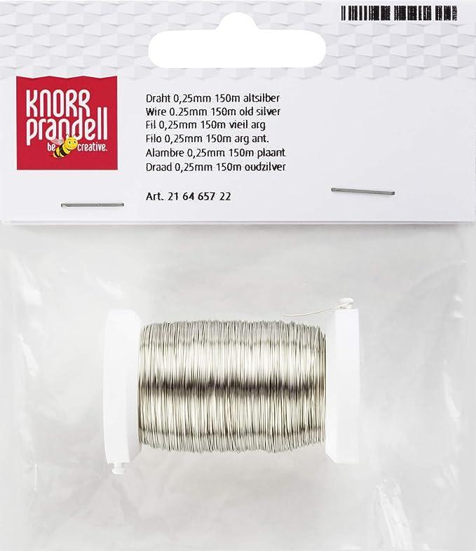 Amazon.de: Knorr Prandell 216465722 216465722 Draht Ø 0, 25 mm 150 m ...