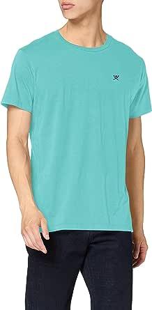 Hackett London SS Logo tee Camiseta para Hombre