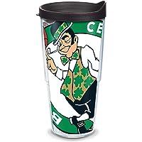 "Tervis 2,754,566.5cm NBA Boston Celtics""vaso con tapa negra, Wrap, 680.4gram, transparente"