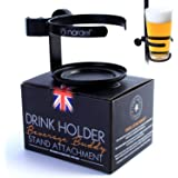 'Nordell' Drinks Holder - Microphone Stand Attachment for Glasses/Bottles/Mugs