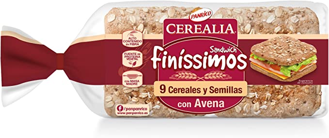 Panrico Cerealia - Finíssimos: Amazon.es: Alimentación y bebidas