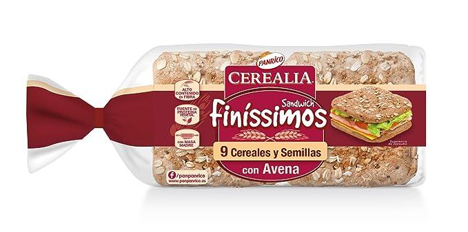 Panrico Cerealia - Finíssimos, Pan especial, 180 g