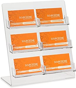 Source One Premium Counter Top Business Card Holder/Gift Card Display