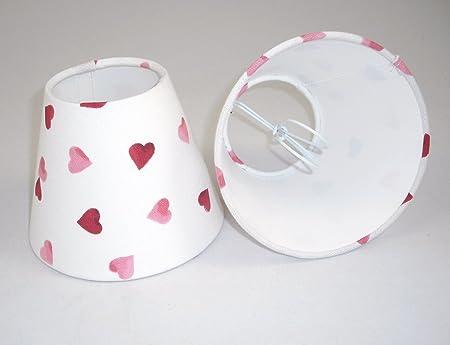 6 Pantalla para lámpara de mesa hecha a mano pequeña -Emma ...