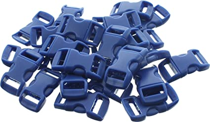 Army Universe 50 Pack - 1 2 quot  Contoured Side Release Buckles Blue bbfeae6b054