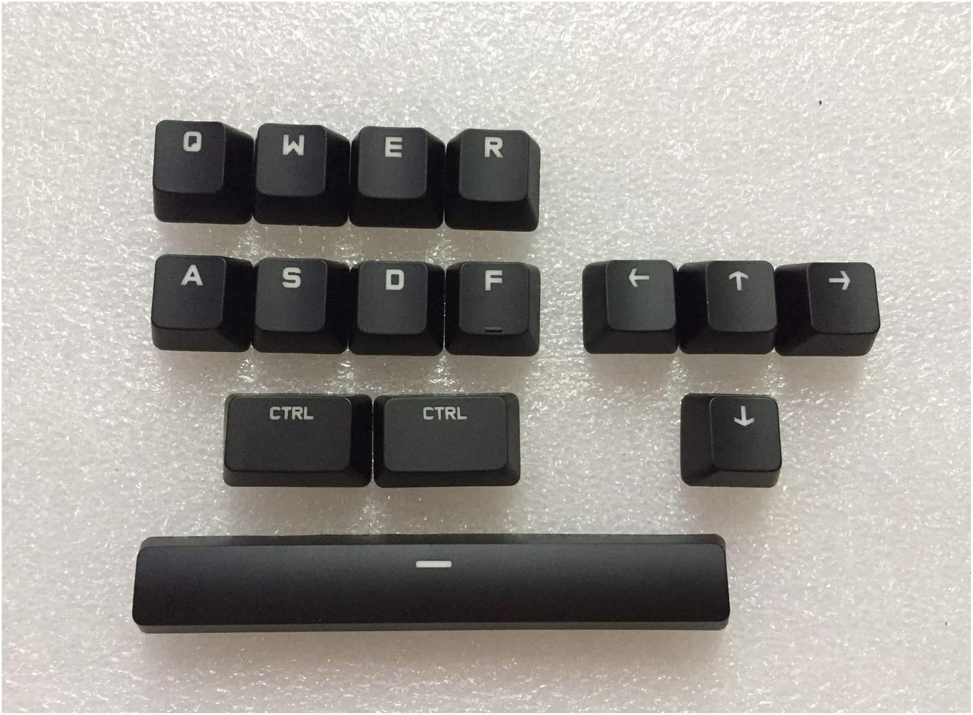 Keyboard keycaps Original CTRL ALT TAB Space Shift Key Cover and Free Key Cover Puller for Mechanical Keyboard G610 Axis Body : Key Cap only, Color : Whole Set Key caps