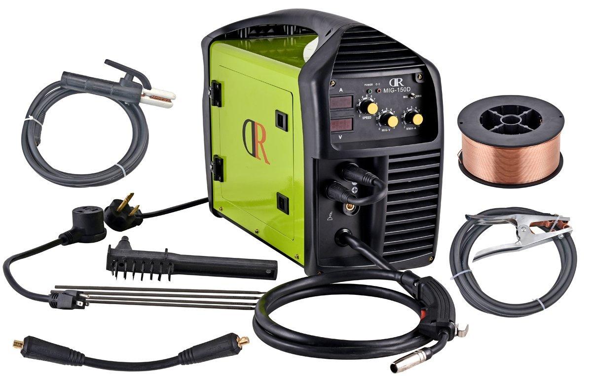 150 Amp Mig Arc Welder 110 220v Dual Voltage Igbt Welding Soldering On Gun Or Cables And Welders Transformer Machine