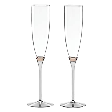 kate spade New York 852078 Rosy Glow champagne glass