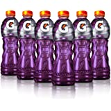 Gatorade, Bebida Isotónica Con Sabor Uva, 500 Mililitros. Paquete De 6