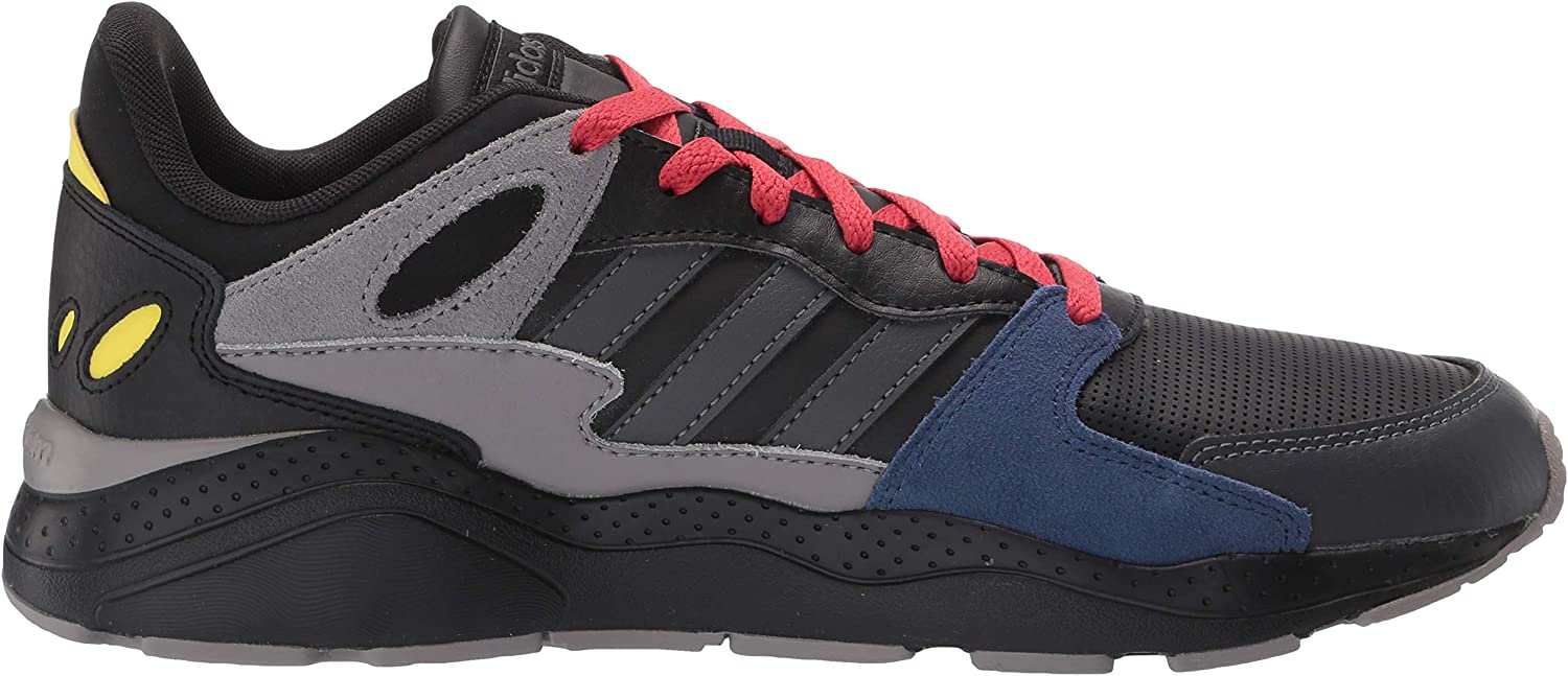 adidas Men's Crazychaos Sneaker Core Black/Grey Six/Dove Grey