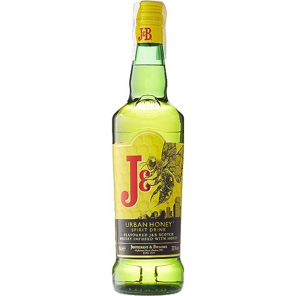 J&B Urban Honey Whisky Escocés - 700 ml: Amazon.es ...