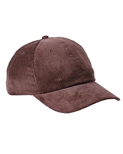 f3a33150 Big Accessories Corduroy Cap OS Brown at Amazon Men's Clothing store: