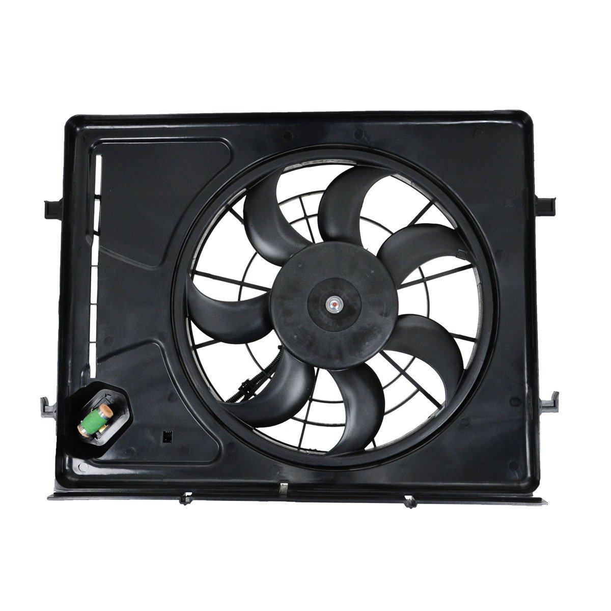 2.0L Radiator Cooling Fan Assembly 253802H150 Fits 07-10 Elantra