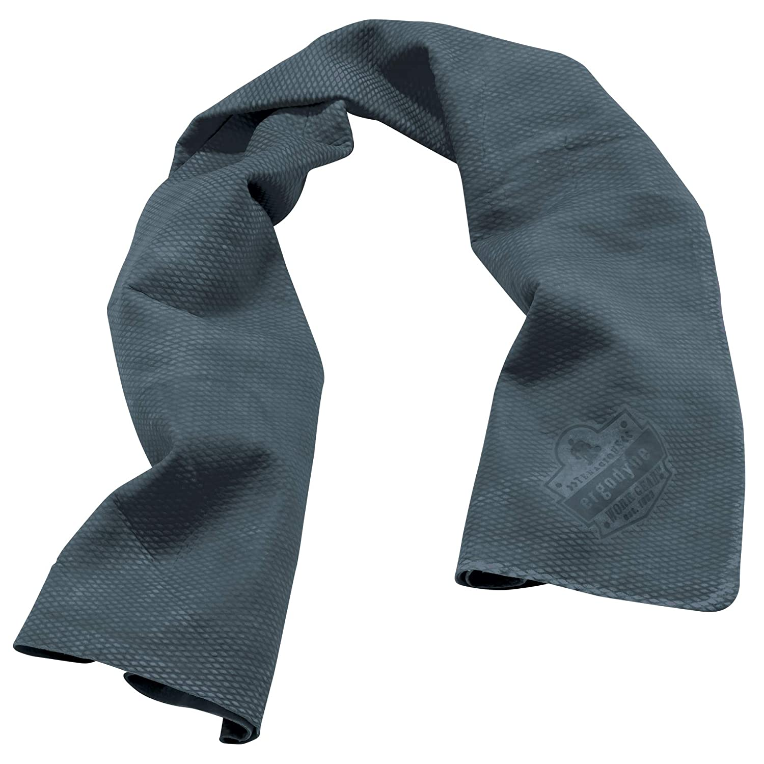 Ergodyne Chill-Its 6602 Evaporative Cooling Towel, Gray