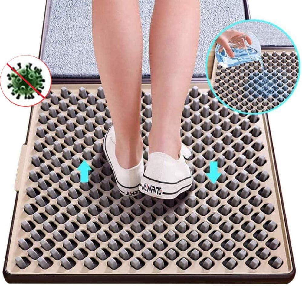 BFCDF Alfombra Desinfectante,Zapatos Puerta Delantera