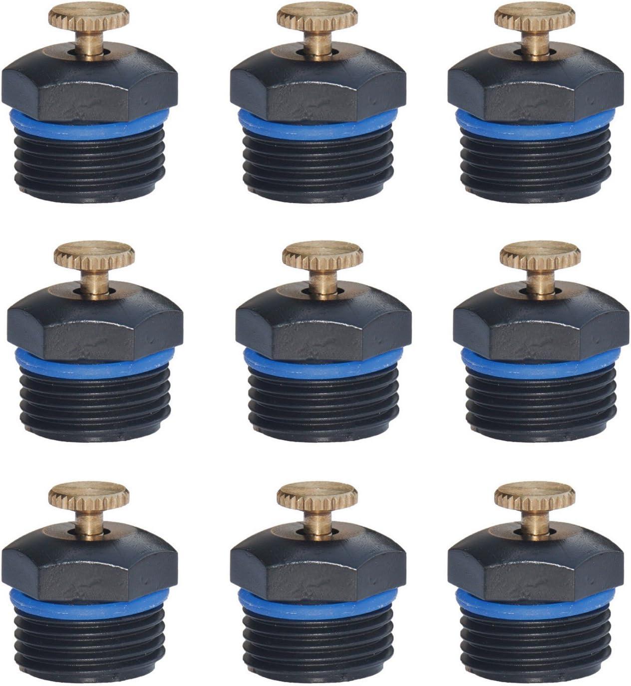 40pcs Micro Garden Sprinkler Irrigation Drip Heads Adjustable-Dripper-Hozel D8Y2
