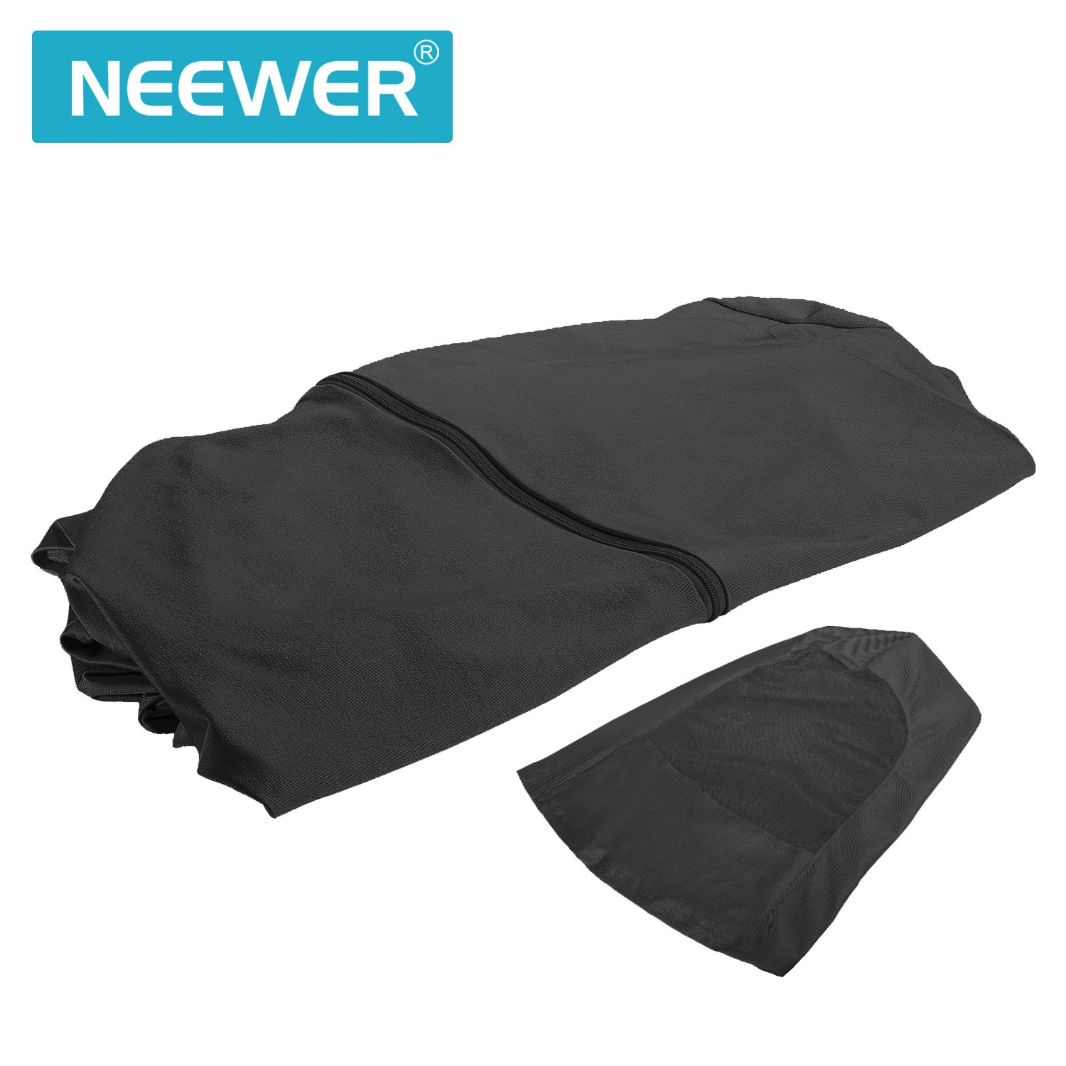 Neewer Photo Video Full Body Screen Suit, See-Through Breath-Through Soft Elastic Body Suit for Photo Video Invisible Effect in Digital Photography ...