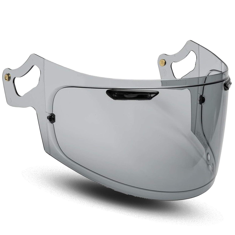 Iridium Visi/ère Casque Arai RX-7v RX-7x Chaser-X Corsair-X Signet-X Quantum-X Vas-V Max Vision Transparent Fume Fonc/ée Iridium Miroir Chrome Toutes Les Tailles Pinlock Ready Aftermarket