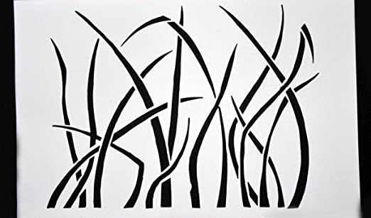 Line Drawing Grass : Color pencil landscape drawing