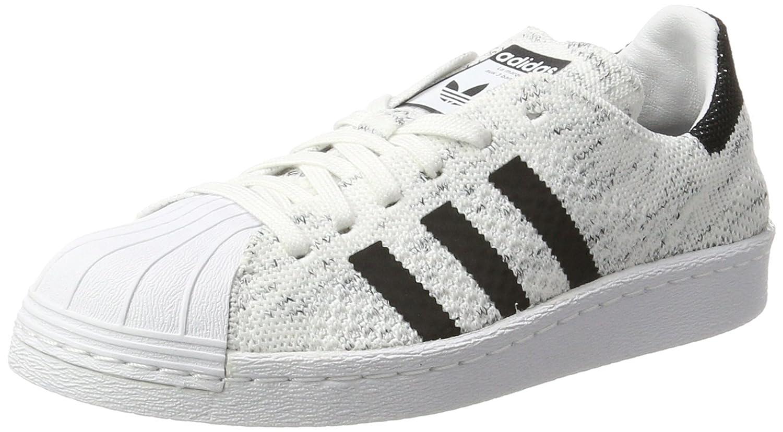 adidas Damen Superstar 80s Primeknit Gymnastikschuhe  40 EU|Elfenbein (Footwear White/Core Black/Grey One)