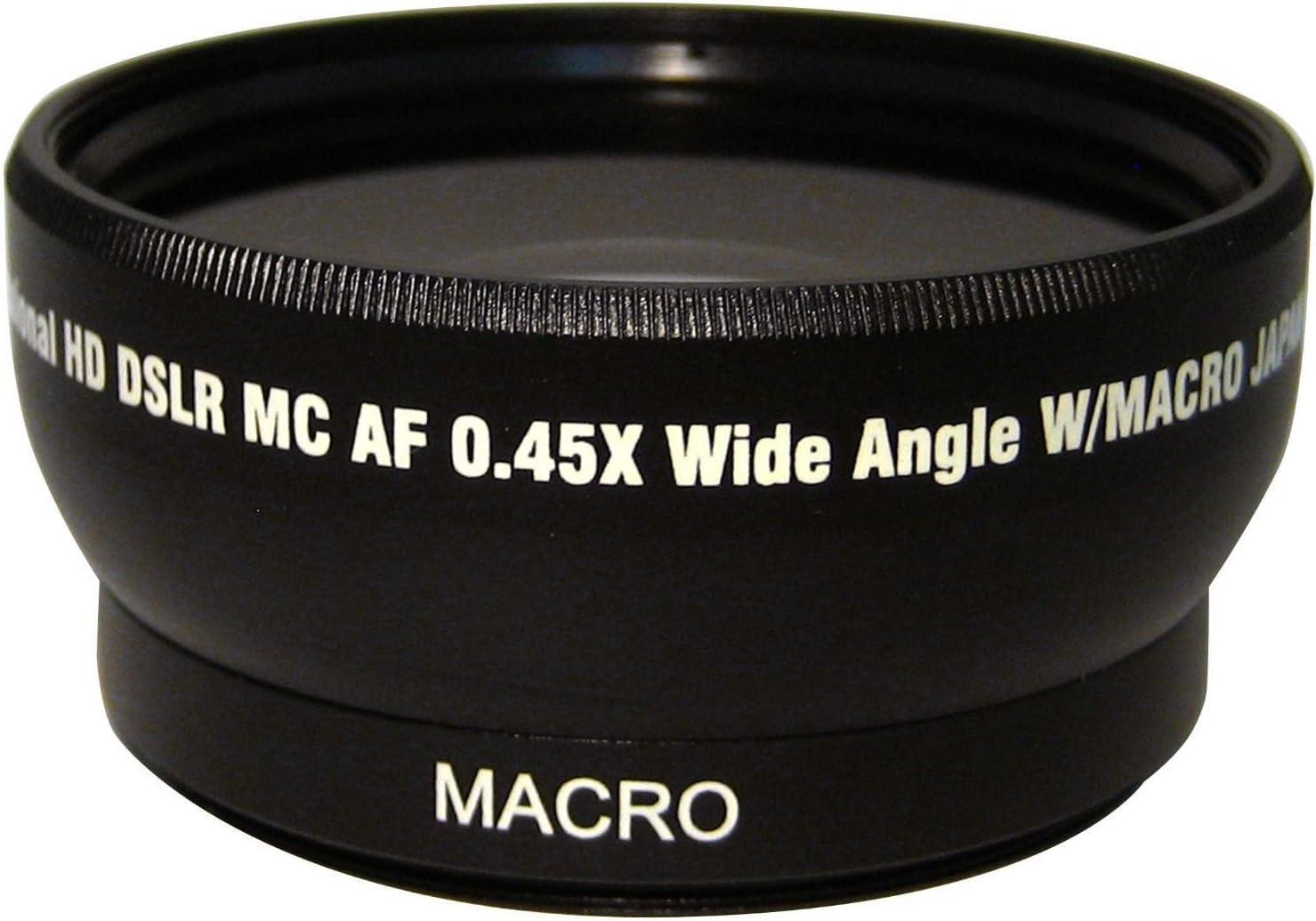 HD Wide Angle w//Macro Lens PANASONIC DMC-FZ35 DMC-FZ38 58mm Compatible, Tube Adapter Not Included