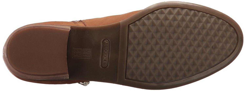 Aerosoles Women's West River Ankle Boot B07542WS2C 9.5 B(M) US|Dark Tan Nubuck