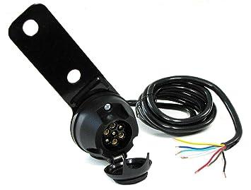 Adapter 13 auf 7 pol Verlängerung 2 m Kfz-kabel AHK Verbindungskabel