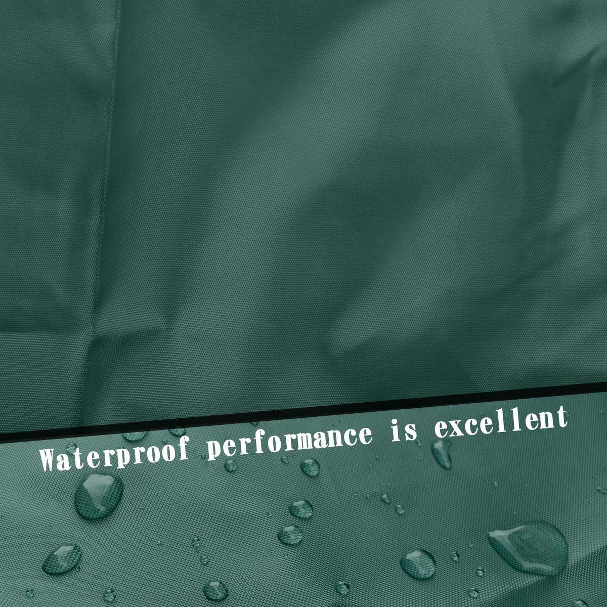 SoGuDio Bimini Top Cover,Suitable for 3-4 Bows Bimini Tops,Effectively Prevent The Erosion of UV sea Water and sea Breeze in Summer,Bimini Top Canopy,Storage Boot Army Green L:68-88IN