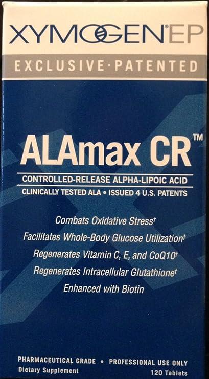 Amazon Com Xymogen Alamax Cr 600 Mg 120 Tabletas Health Personal Care