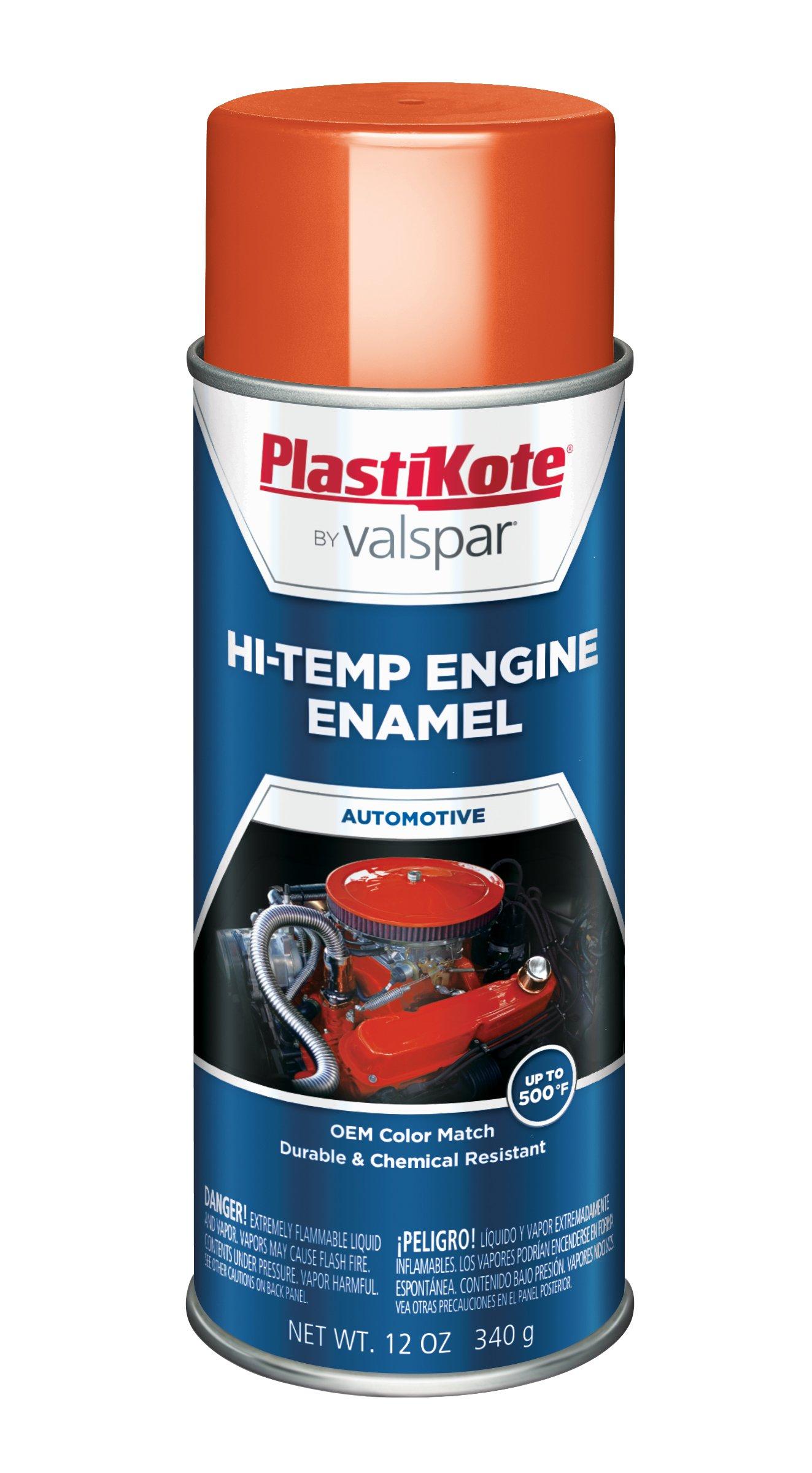 PlastiKote 200 Chevrolet Orange Engine Enamel, 12 oz.