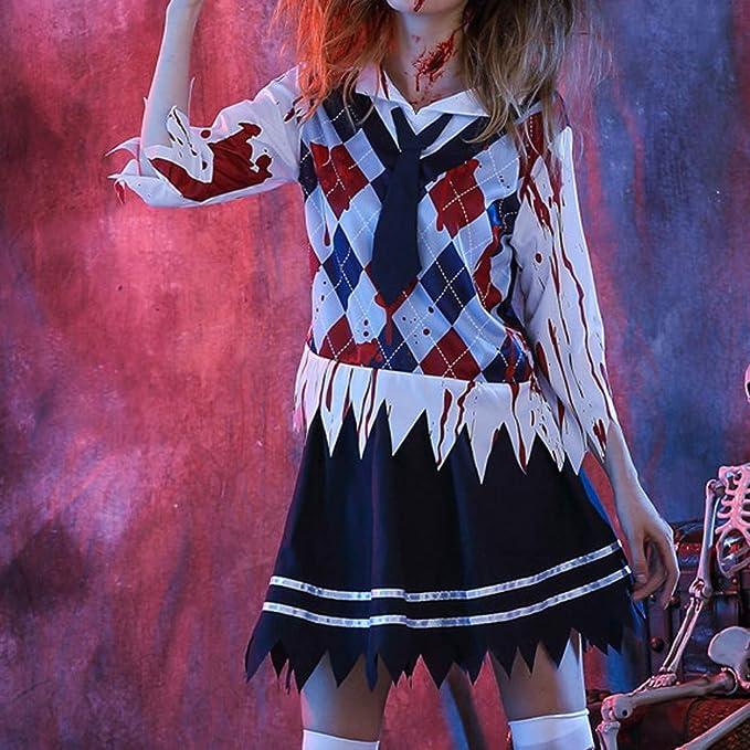 Disfraz de Halloween para Mujer, de Uniformes, Escolares, con ...