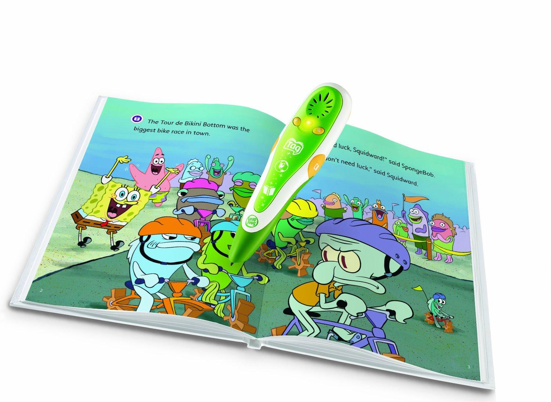 Leapfrog Tag Activity Storybook Spongebob Squarepants: The Tour De Bikini Bottom by LeapFrog (Image #2)