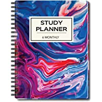 Nourish A5 Study Planner for 6 Months Undated Hardcover, A Must Have for Students