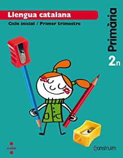 Llengua catalana + Contes per pensar. 2 Primària. Construïm. Trimestres - 9788466137805