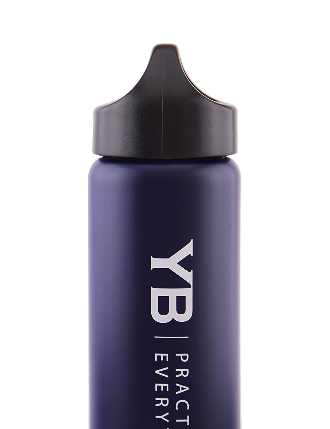 Super-Insulated Stainless Steel BPA-Free Cap Leak-Proof Easy-Fill /& Easy Wash Mouth YOGABODY Hot /& Cold Sports Water Bottle