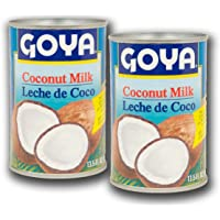 Goya Coconut Milk, 13.5oz Can (Pack of 2)