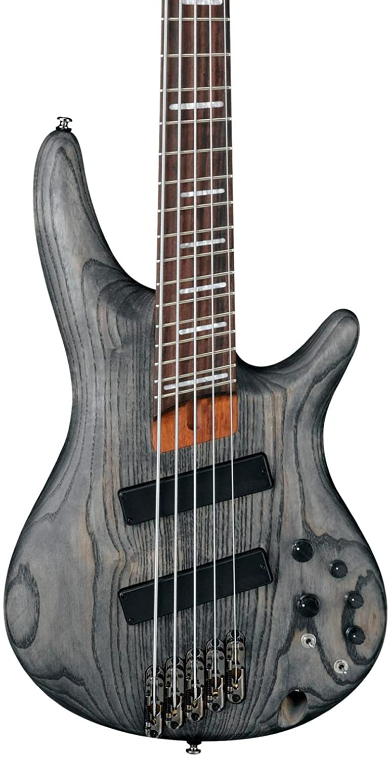 Amazon.com: Ibanez SRFF805 Multi Scaling 5-String Electric Bass ...