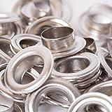 BIG-sAM-œillets avec rondelles - 4/5/8, 11 et 14 mm argent, 11mm