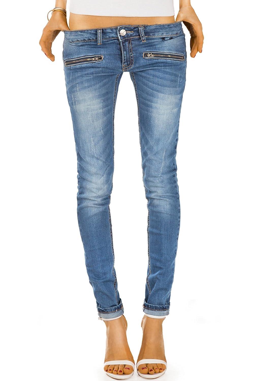 Bestyledberlin pantalones jeans de mujer tubo, jeans slim j03i