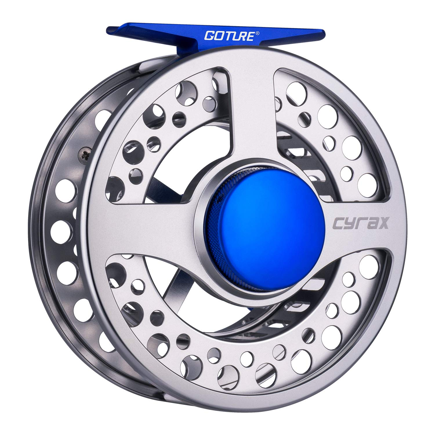 Goture Large Arbor Fly Fishing Reel – CNC-Machined Aluminum Fly Reel for Redfish, Trout, Bass – 3 4wt, 5 6wt,7 8wt,9 10wt Fishing Reel