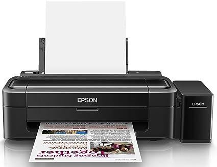 amazon in buy epson l130 single function ink tank colour printer