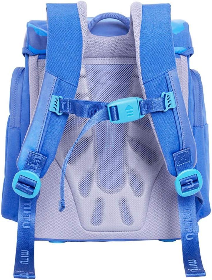 Childrens School Bag Primary School Bag Male and Female Large-Capacity School Bag Backpack Color : Blue YONGMEI Backpack