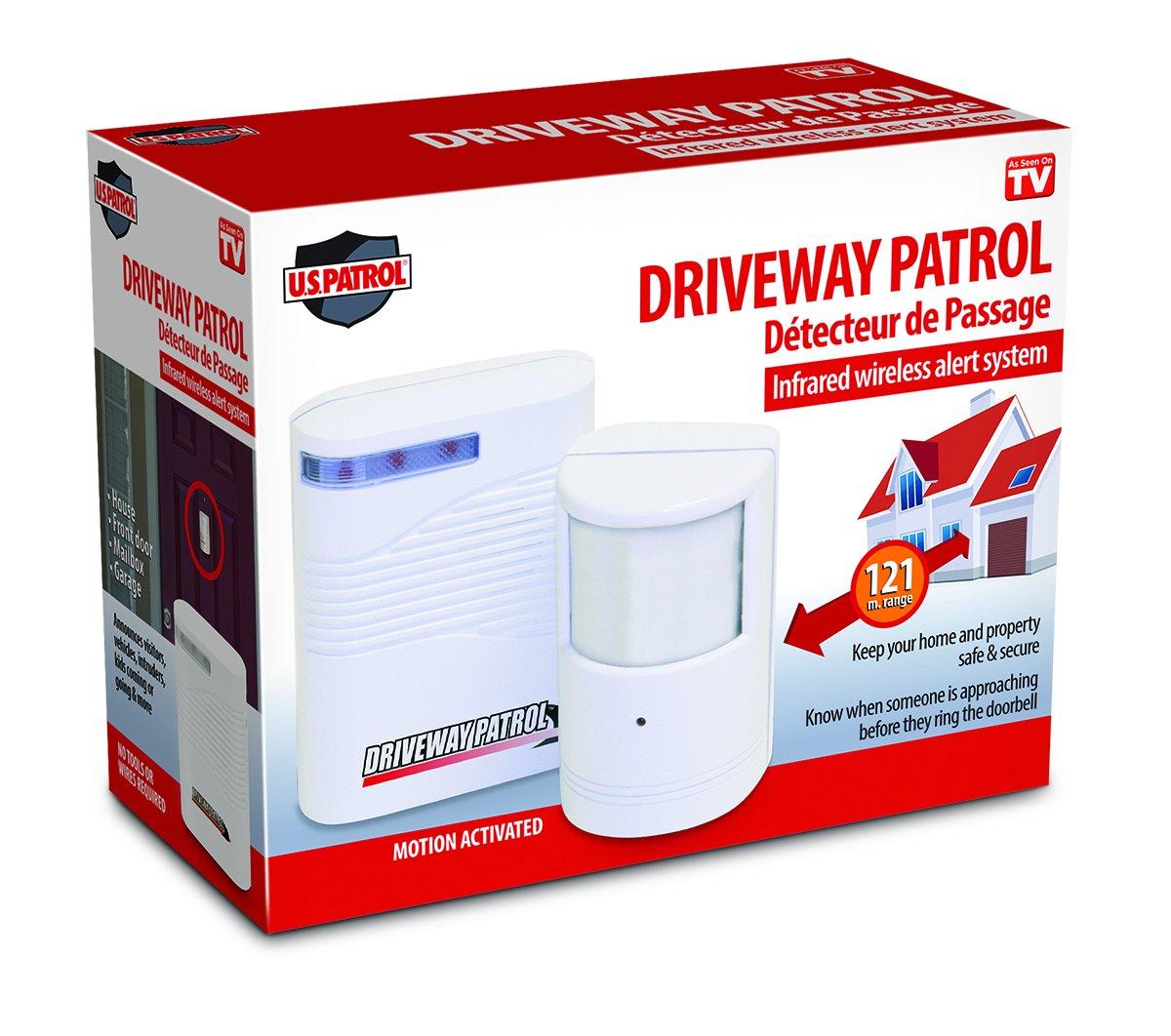 US Patrol Driveway Patrol Infrared Wireless Alert System Jobar Onternational E3731