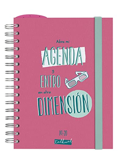 Amazon.com : Finocam - Agenda 2019-2020 1 Day Page Spanish ...