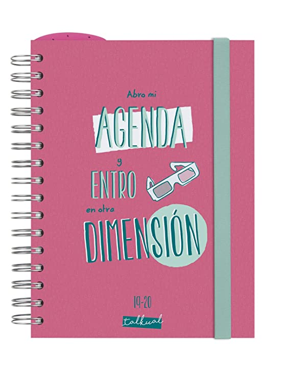 Amazon.com : Finocam - Agenda 2019-2020 1 Day Page Spanish ...