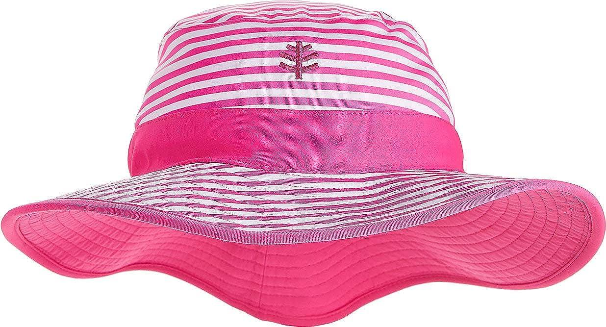 b75fb16e5f2ff Amazon.com  Coolibar UPF 50+ Girls  Reversible Surf Bucket Hat - Sun  Protective  Clothing