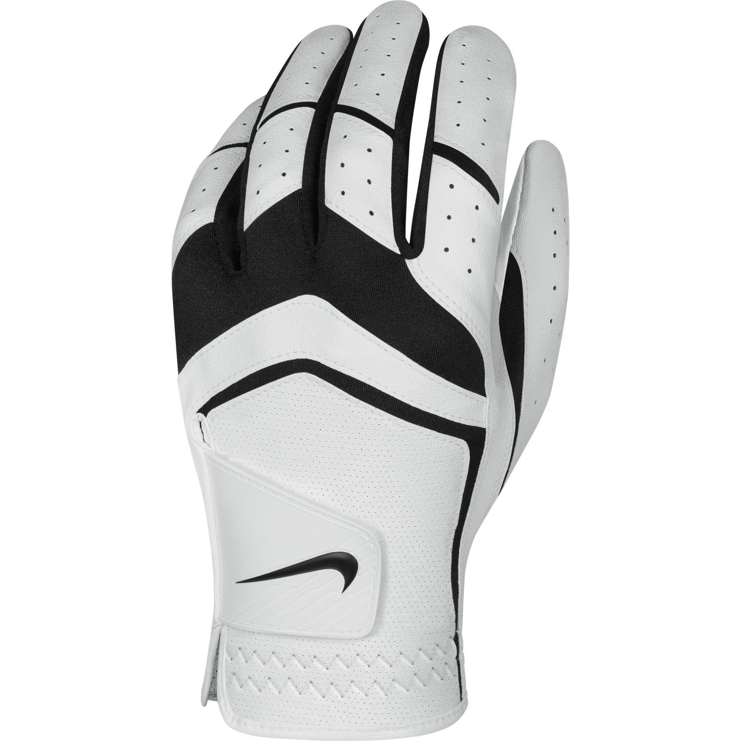 Nike Men's Dura Feel Golf Glove (White), Medium - Cadet, Left Hand by Nike