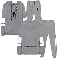 SERAPHY Unisex Tops and Pants Fashion Sport Sweatsuits Tracksuits Clothing Sets